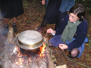 le CEP est un camp scout
