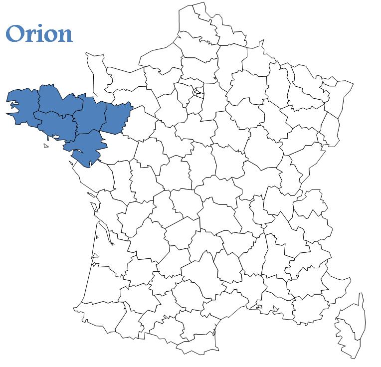 carte Orion